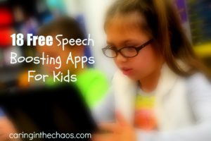 18 Free Speech Boosting apps caringinthechaos.com