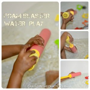BATH FOAM WATER SHOOTER