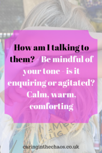 Special needs, challenging behaviour, how am I talking to them?
