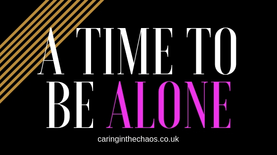 A time to be alone