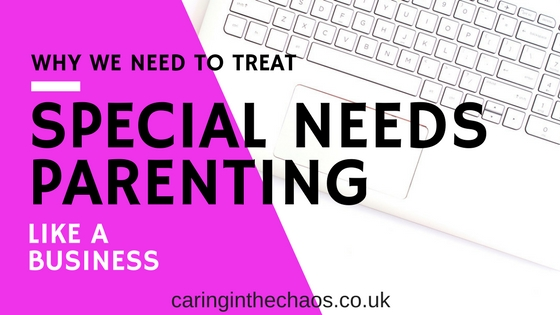 Improve your productivity - tips to managing special needs parenting more efficiently